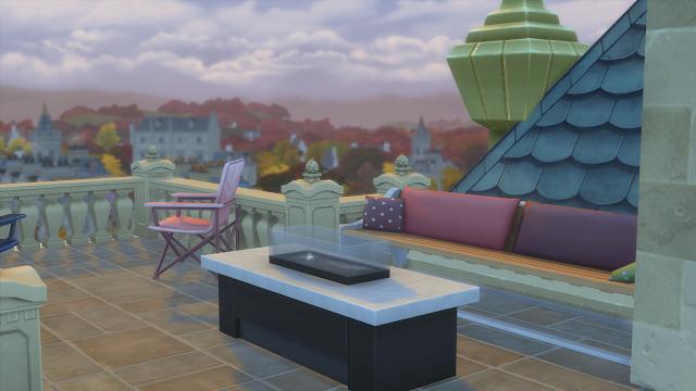 Sims 4 Wyvern Hall Patio