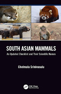 South Asian Mammals, An updated Checklist and Their Scientific Names