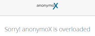 Sorry! anonymox is overloaded