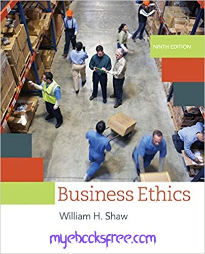 Business Ethics Pdf 9e by Shaw