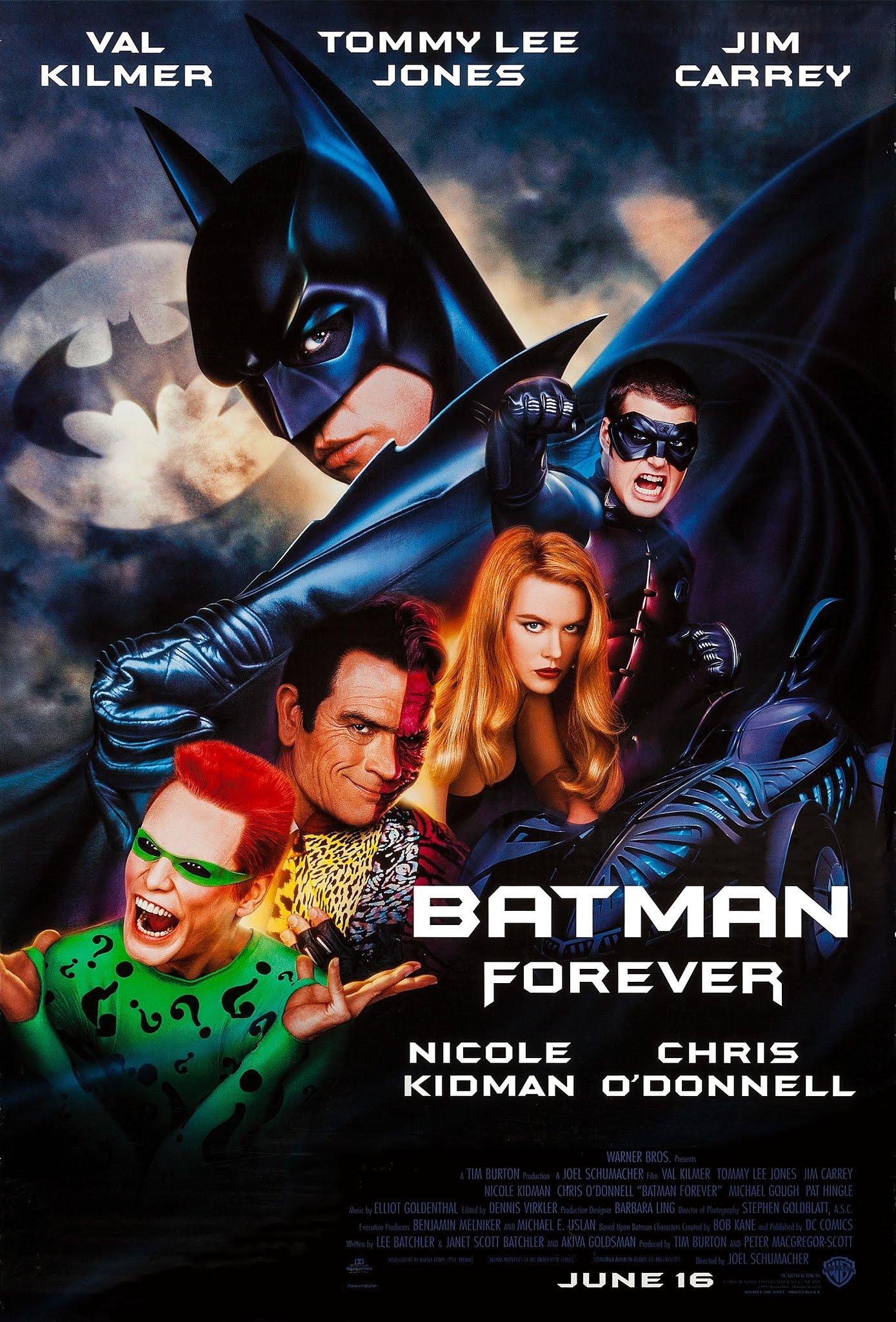 batman forever film recenzja val kilmer joel schumacher tommy lee jones jim carrey