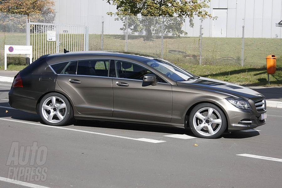 Mercedes-Benz CLS Estate Spy Photos