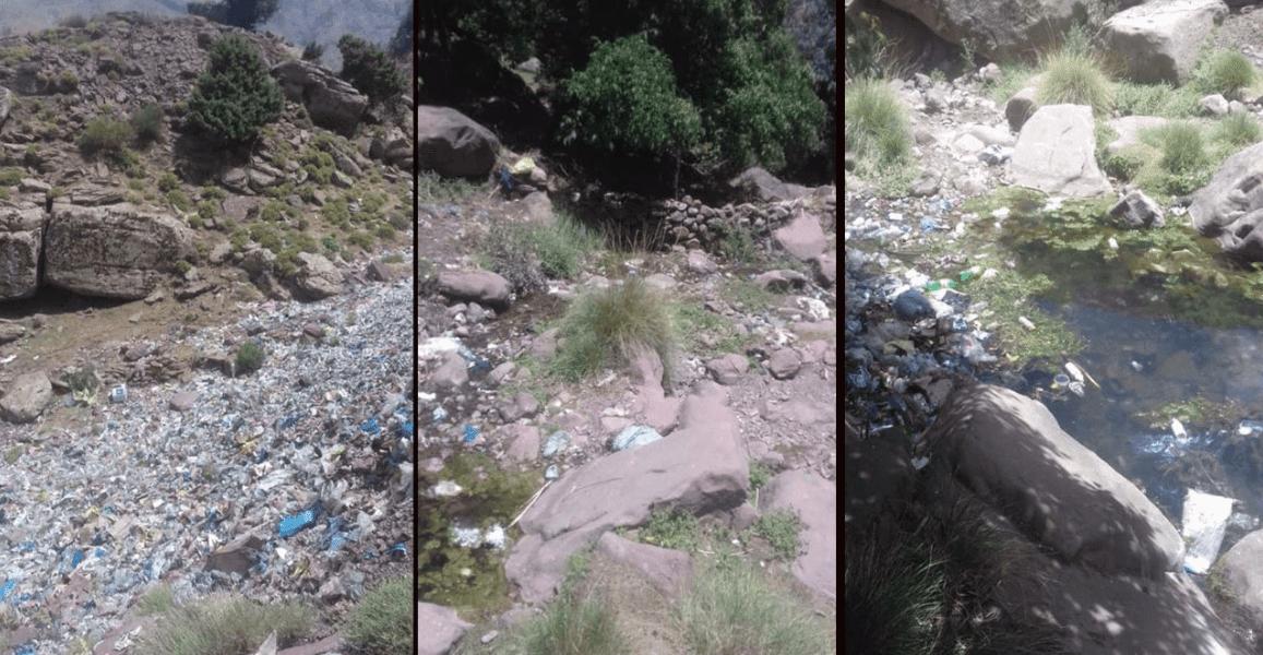 كارثة بيئية تُهدد أوكايمدن بسبب شاحنة تابعة للجماعة