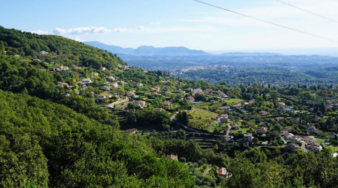 View from Route du Caïre