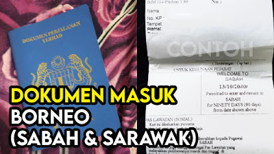 Dokumen Diperlukan Memasuki Borneo