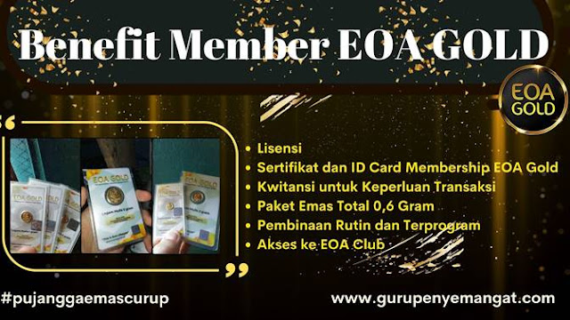 Keuntungan Menjadi Member EOA Gold