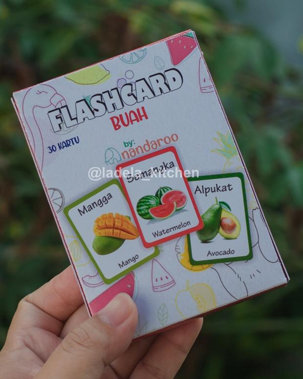Flash Card Anak Mengenal Buah
