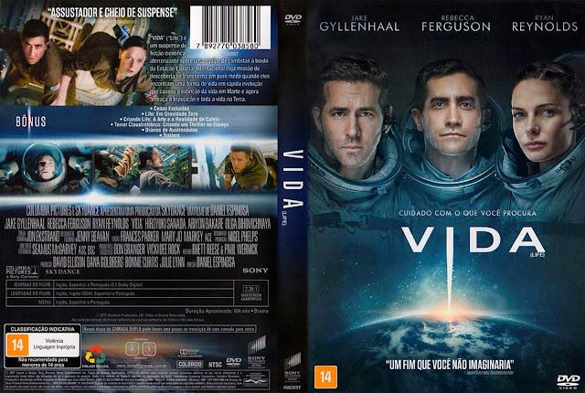 Capa DVD Vida