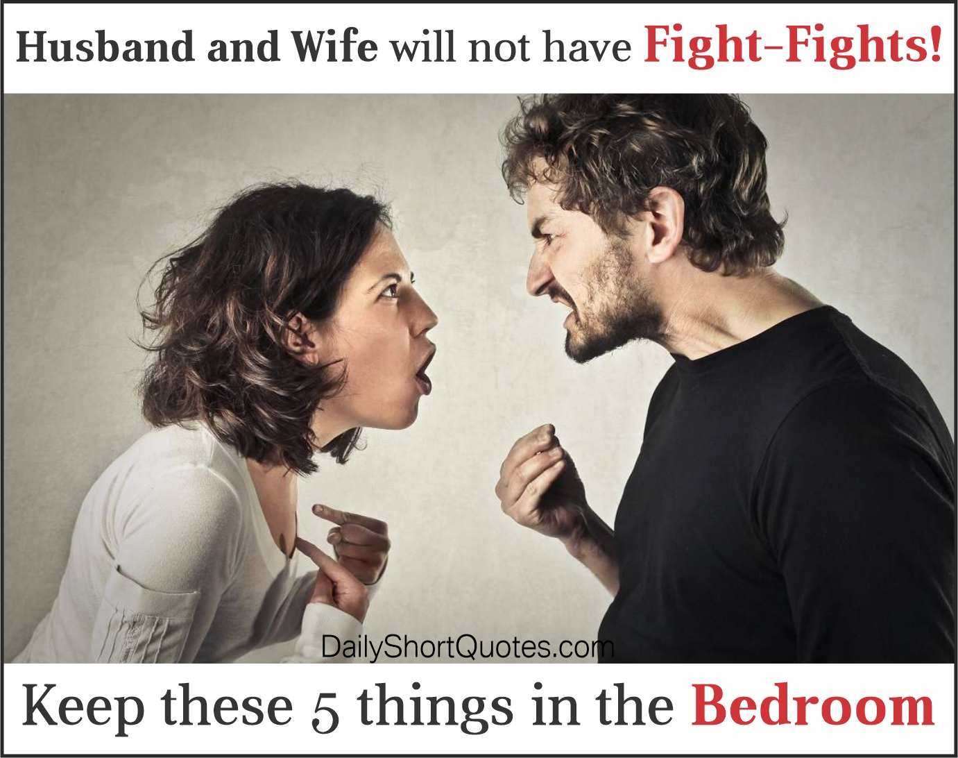 Tips to Improve Husband and Wife Relationship.