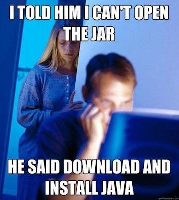 funny memes on java