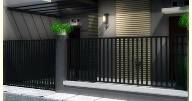 Model Pagar Minimalis 2014 Desain Gambar Furniture Rumah
