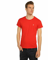 Kırmızı tişört kombin