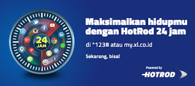 Harga dan Cara Daftar Paket Internet Hotrod Mingguan XL