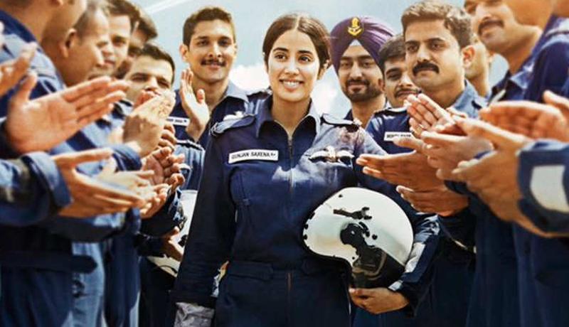 jhanvi kapoor, gunjan saxena, kargil war, first woman pilot, indian airforce, history