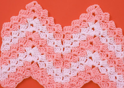 2 - Crochet Imagen Puntada zig zag a crochet en relieve Majovel Crochet