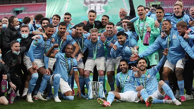 El Manchester City es campeón por cuarta vez consecutiva