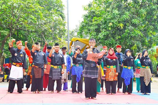 Peringatan Sumpah Pemuda ala Pencak Silat Jawara Bekasi