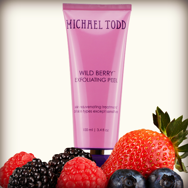 Michael Todd Beauty WILD BERRY SKIN PEEL, by barbies beauty bits