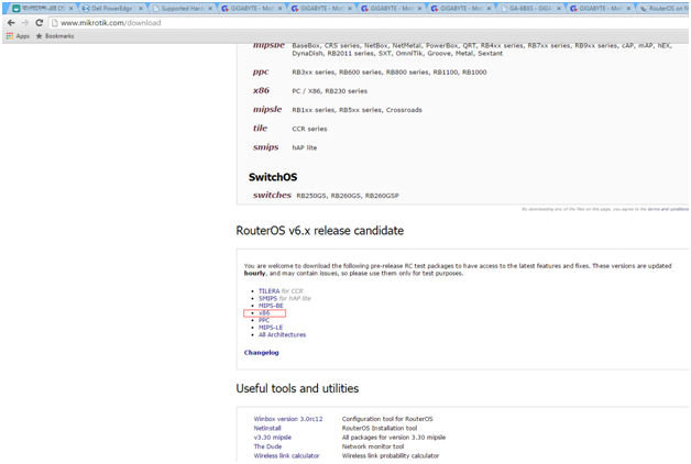 MikroTik Router Configuration: July 2015