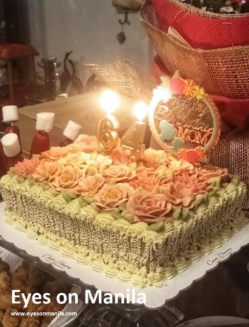 Casa Elmira's Caramel Cake Birthday Cake