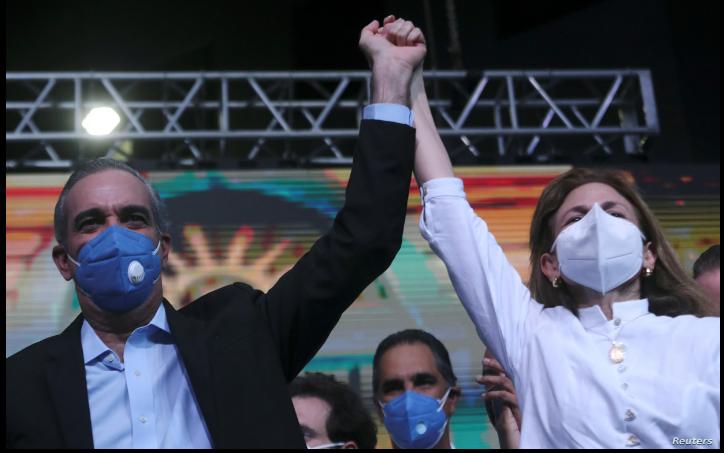 El empresario Luis Rodolfo Abinader Corona, del Partido Revolucionario Moderno (PRM), se convirtió en el virtual ganador de las elecciones presidenciales dominicanas, según datos preliminares / REUTERS