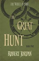 The Great Hunt modern book cover by Robert Jordan, Wheel of Time series