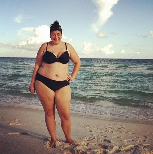 Rộ trào lưu phụ nữ béo diện bikini rồi tạo dáng chụp ảnh-8