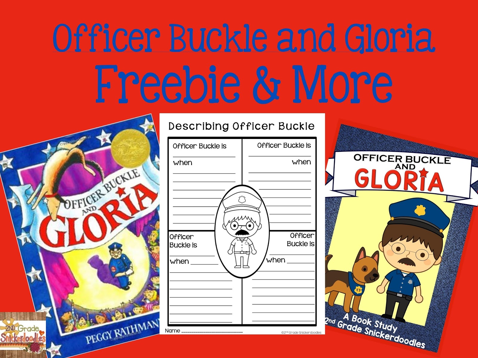 2nd Grade Snickerdoodles Officer Buckle And Gloria