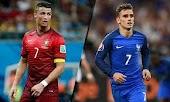 تفاصيل مباراة  فرنسا والبرتغال كأس اليورو