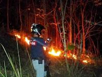 Lokasi Kebakaran di Pangandaran Ada di Dua Tempat