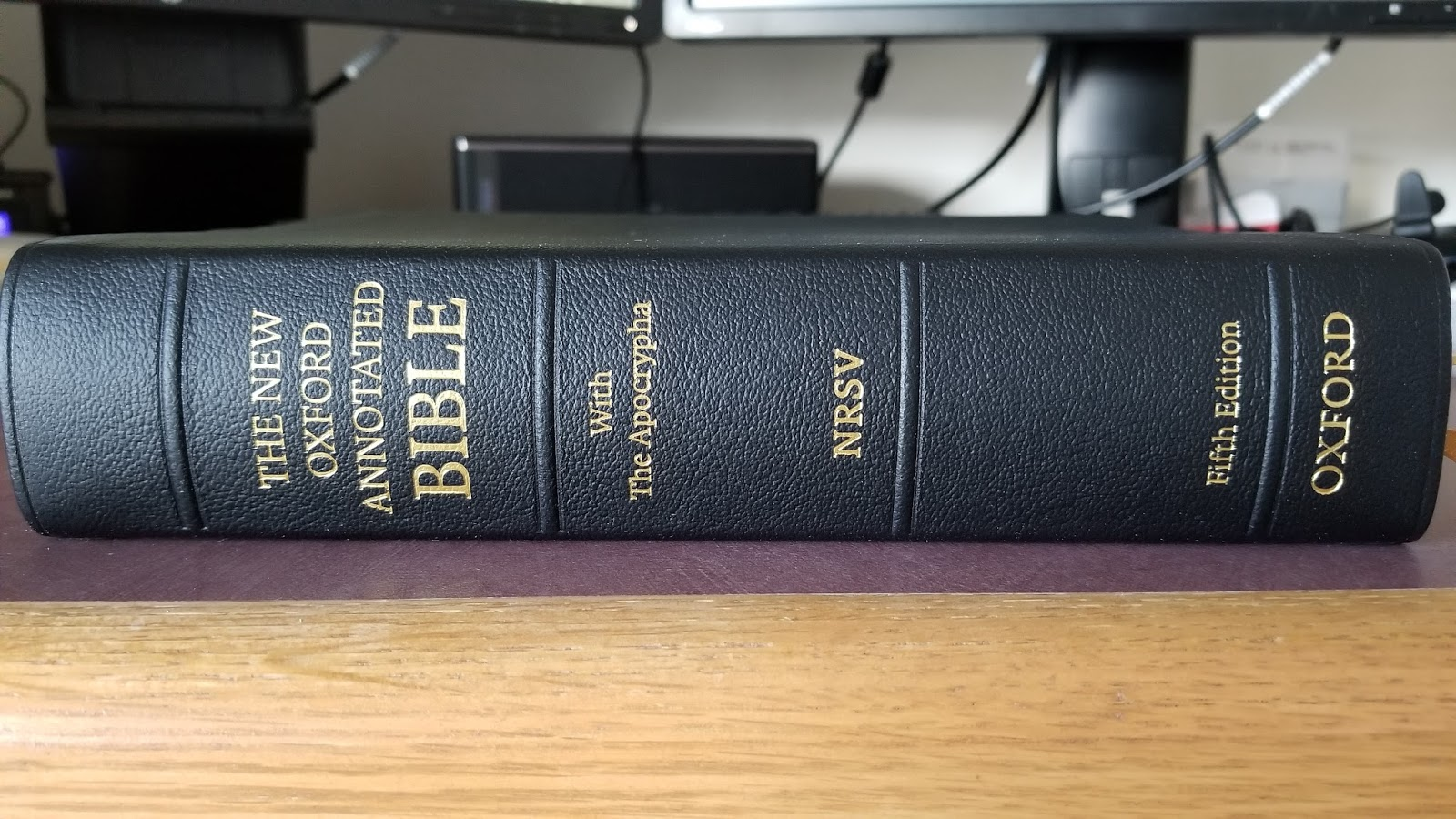 New oxford annotated bible, 4th edition: q&a blog posts this lamp.