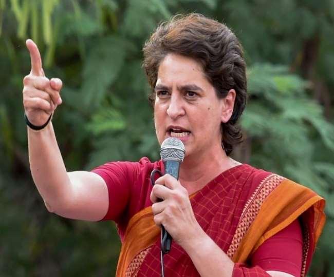 कांग्रेस महासचिव प्रियंका गांधी ने मुख्यमंत्री को लिखा पत्र, की ये मांग