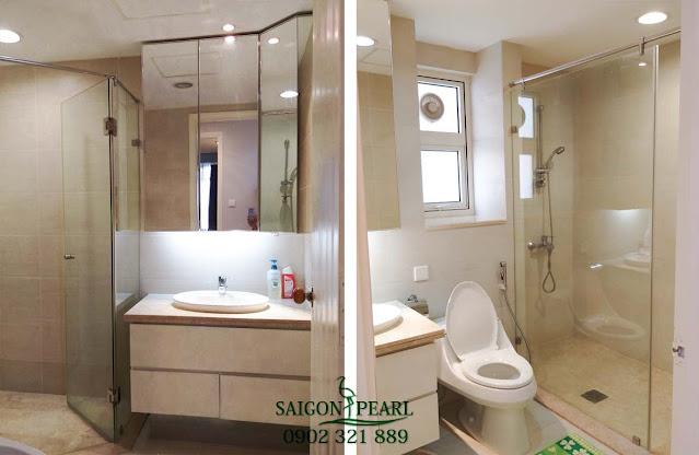 Phòng vệ sinh căn hộ Saigon Pearl