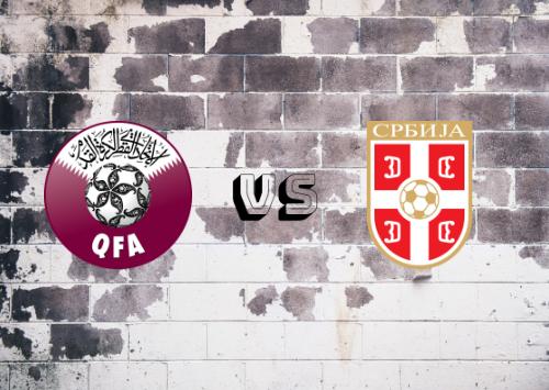 Qatar vs Serbia  Resumen