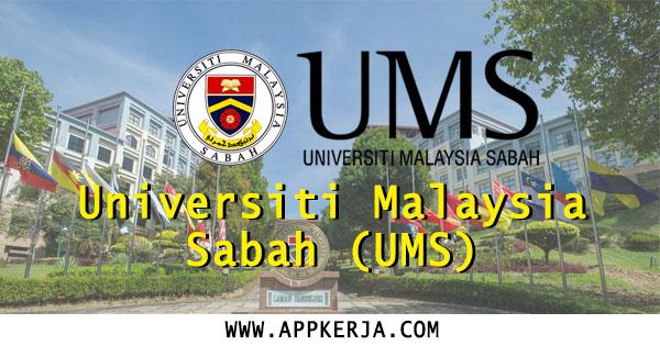 Jawatan Kosong di Universiti Malaysia Sabah (UMS)