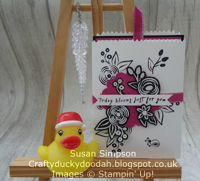 Stampin' Up! UK Independent  Demonstrator Susan Simpson, Craftyduckydoodah!, Perennial Birthday, December 2017 Coffee & Cards Project, Supplies available 24/7 from my online store,