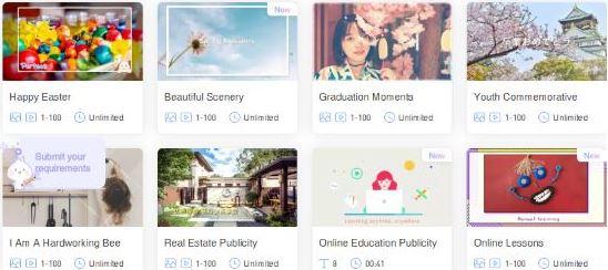 Cara Membuat Video Slideshow bergaya TikTok Secara Online-1