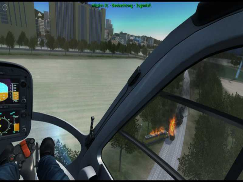 Polizeihubschrauber Simulator PC Game Free Download