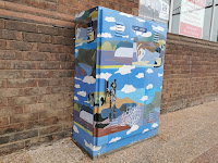 Goulburn Street Art | NBN Box by Lynne Flemons