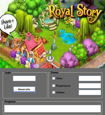 Download Free Royal Story (All Versions) Hack Unlimited Coins,Experience,Rubies 100% working and Tested for IOS and Android MOD.