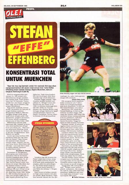 """STEFAN """"EFFE"""" EFFENBERG PROFILE"""