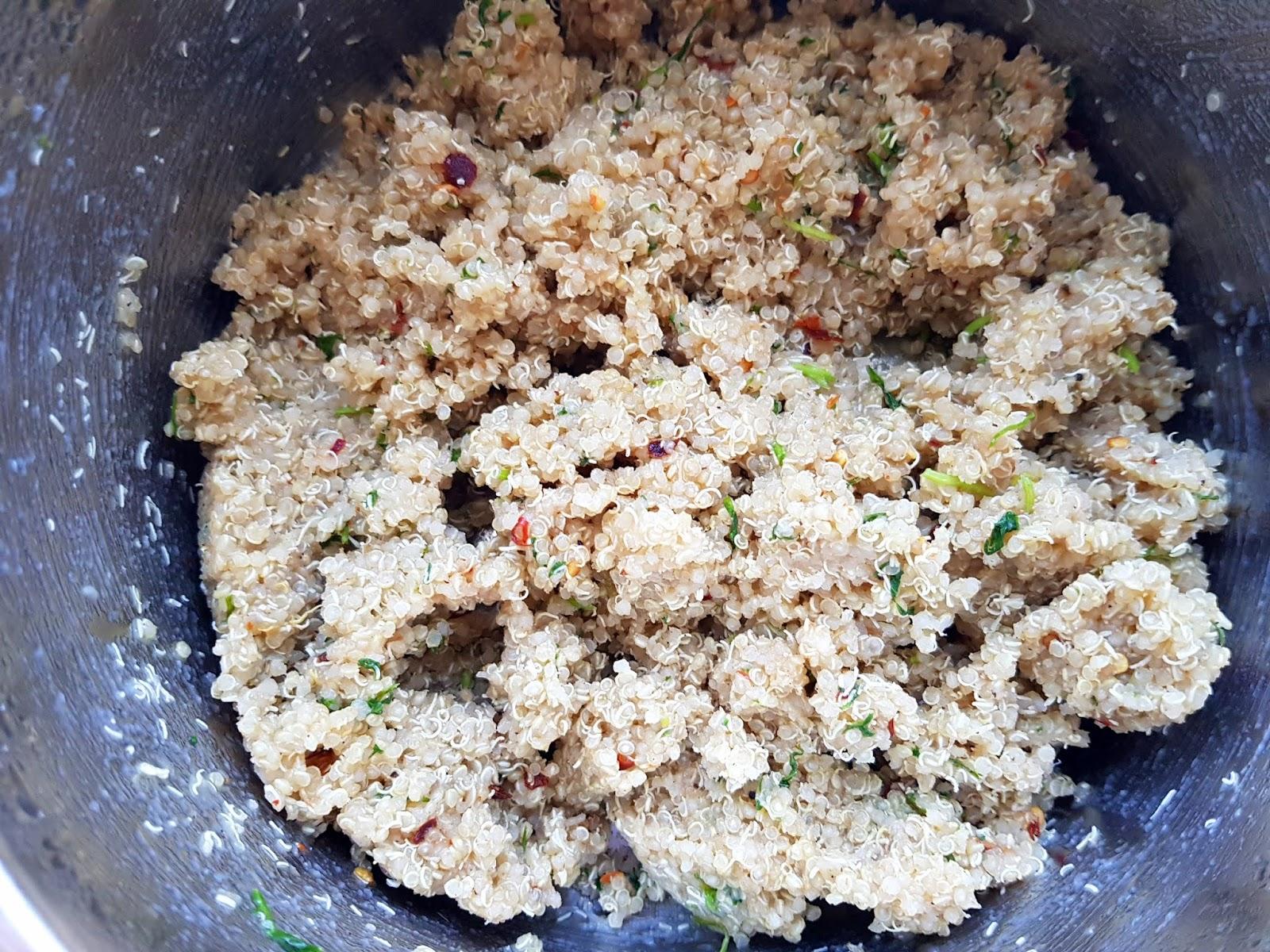 Vegan quinoa cutlet recipe - high protein vegan lunch recipe