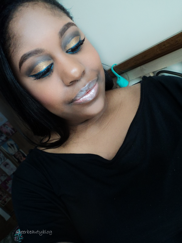 Kat Graham makeup look