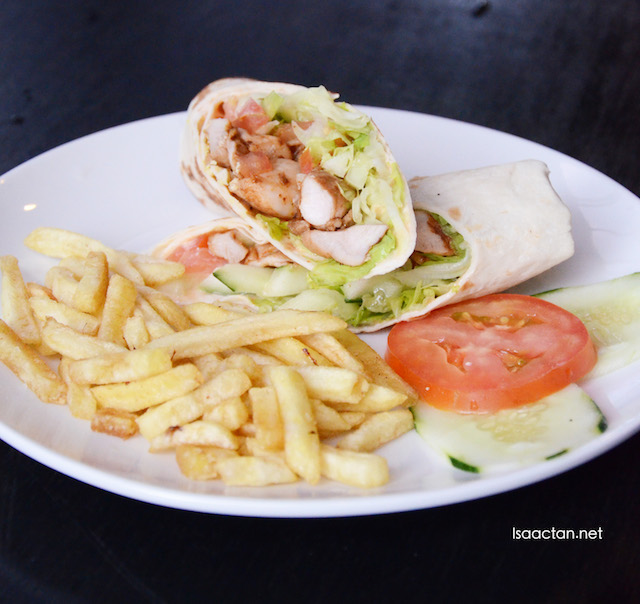 Grilled Chicken Sandwich Wrap - RM8.90