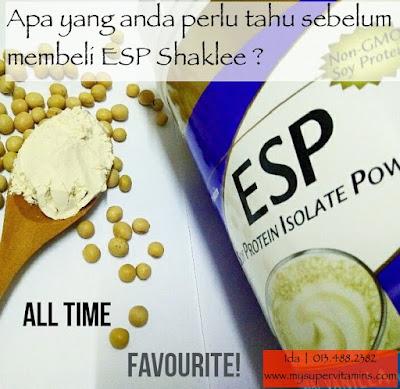 ESP Shaklee beri kesan baik atau kesan buruk?