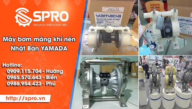 Bơm màng khí nén YAMADA giá rẻ tại TPHCM - 190745