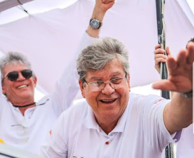 Governador atual da Paraíba, João Azevedo (Cidadania) recebeu mais ...