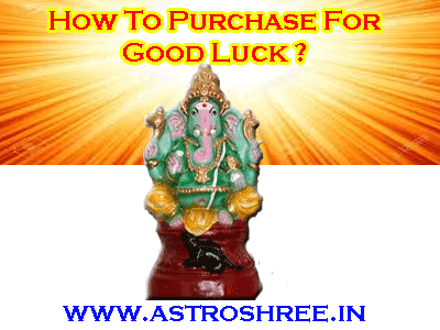 good luck tips by astrologer for making purchase