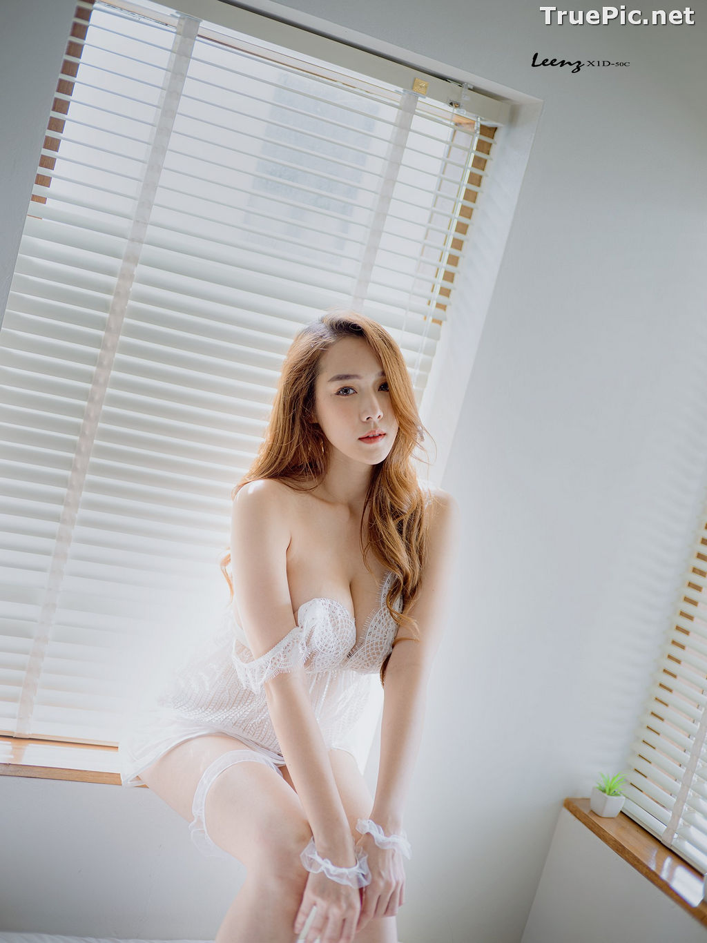 Image Thailand Model - Mananya Benjachokanant - Beautiful In White - TruePic.net - Picture-3