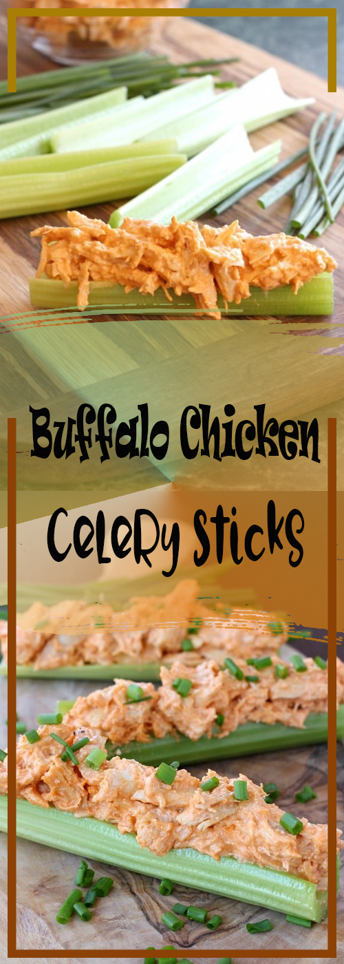 Buffalo Chicken Celery Sticks Recipe
